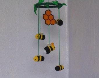 Unique Bee Mobile Bumblebbee Queen