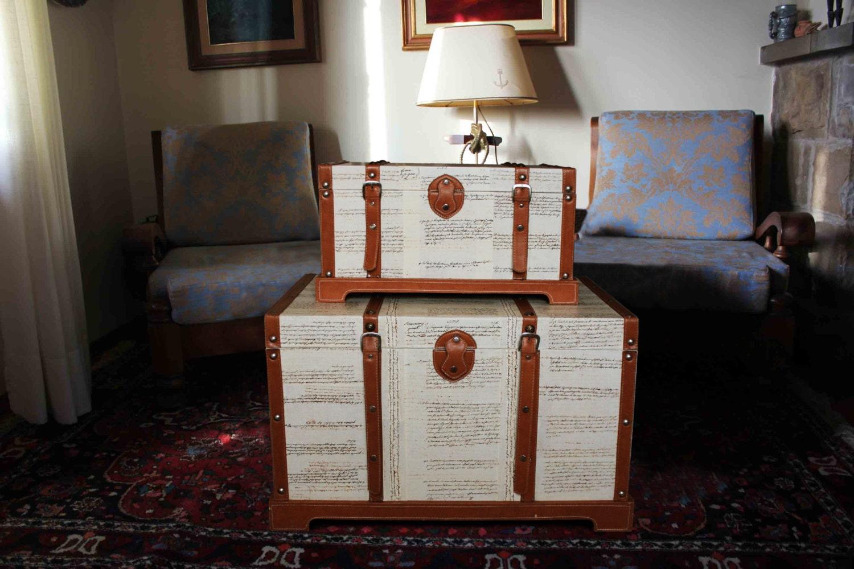 Tavoli allungabili moderni legno - Baule come tavolino ...