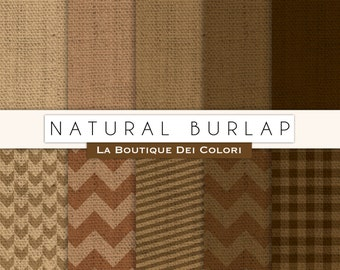 Natural Burlap Fabric Digital Burlap paper digital paper burlap fabric Instant Download  Commercial Use Stripes Chevron Geometric