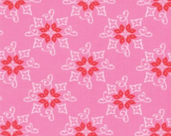 One Yard Daydreams - Reflection in Rose Pink - Cotton Quilt Fabric - designed by Kate Spain for Moda Fabrics - 27174-13 (W2791)