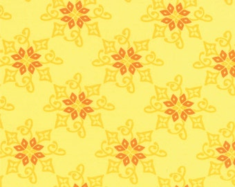 Half Yard Daydreams - Reflection in Yellow - Cotton Quilt Fabric - designed by Kate Spain for Moda Fabrics - 27174-12 (W2792)