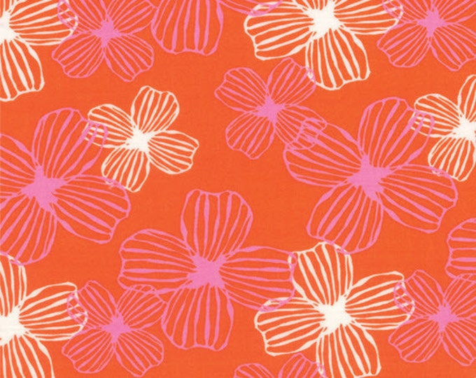 Half Yard Daydreams - Reverie in Persimmon - Cotton Quilt Fabric - designed by Kate Spain for Moda Fabrics - 27172-18 (W2796)