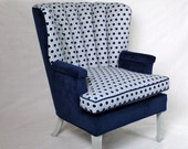 Items Similar To Available Vintage Channel Back Chair