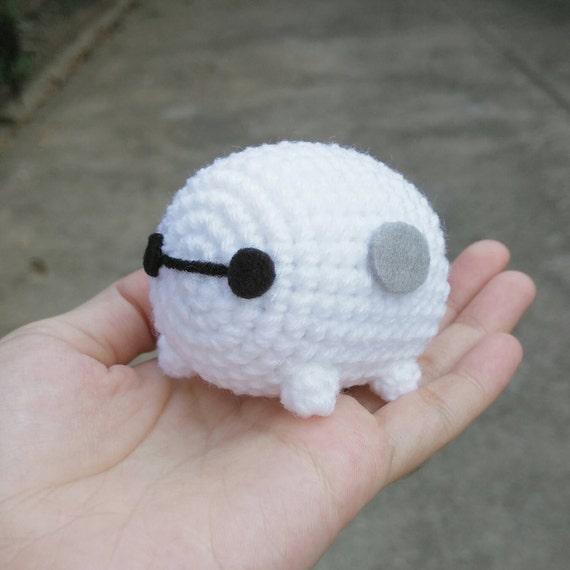 Small Baymax Amigurumi Pattern : Big Hero 6 Cute MiNi Baymax ver. TsumTsum Amigurumi Crochet