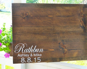 Wedding Guestbook, Guestbook Sign, Rustic Wedding, Wedding Sign, Custom Guestbook, Guest Book, Sign, Guest Sign, Wedding