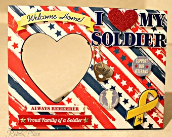 Soldier frame I heart my soldier