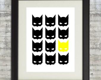 Superhero Wall Art superhero wall art dream big little batman be your own super