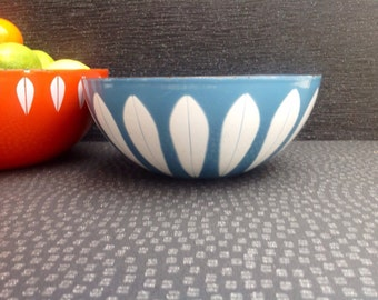 Cathrineholm enamel Blue and White Small Dish.