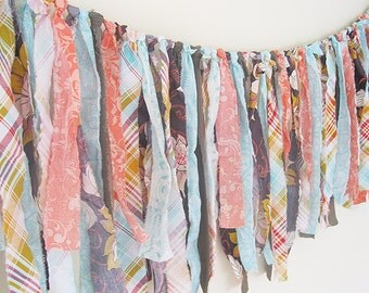"""Rag Tie Garland 