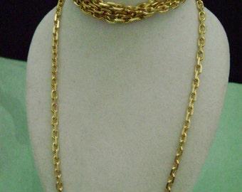 Nautical Gold Chain 18K bonded