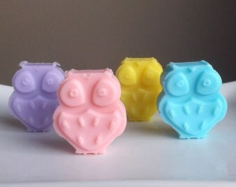 Owl Baby Shower - Owl Favors, Owl Baby Shower Favors, Owl Party Favors, Girl Baby Shower Favors, Boy Baby Shower Favors - Set of 10