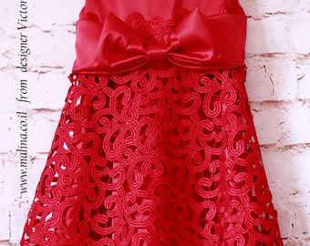 The Red Dress from Malina boutique
