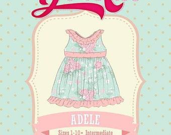 Adele Dress Pdf Sewing Pattern