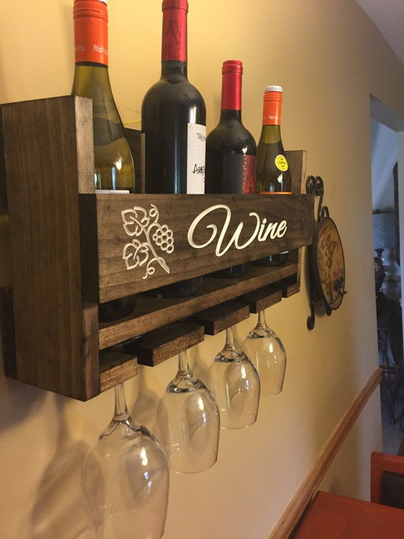 Wine glass slots