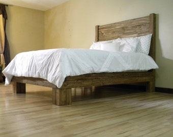 popular items for reclaimed bedframe on etsy