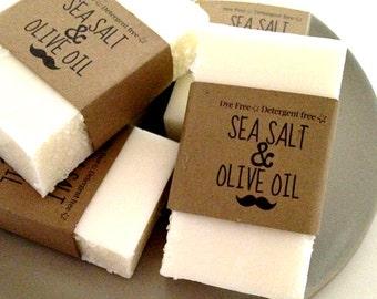 dead sea salt soap,unscented soap, sea salt soap, vegan soap, all natural soap,homemade soap, olive oil soap