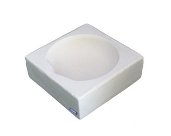 """Square Crucible 2-3/4"""" Melting Casting Dish For Jewelry Gold Silver Scrap Wa 365-523"""