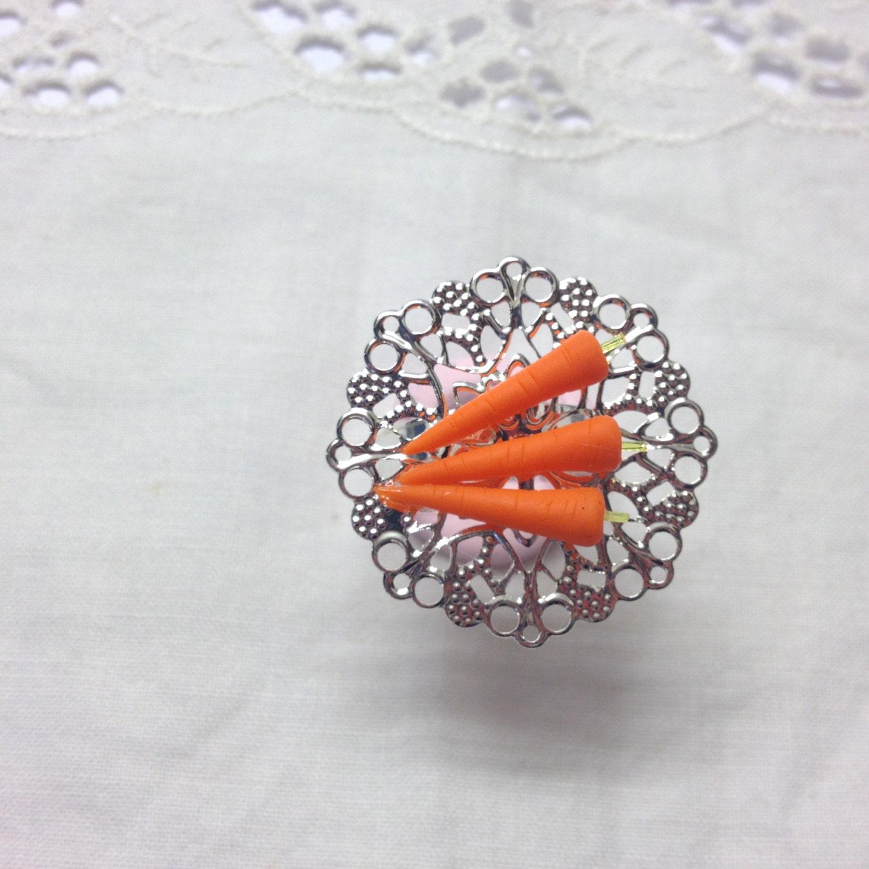 Three Carrot Adjustable Ring