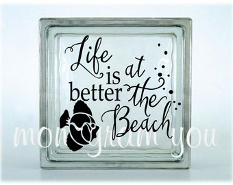 Beach Vinyl Decal Etsy - Beach vinyl decals
