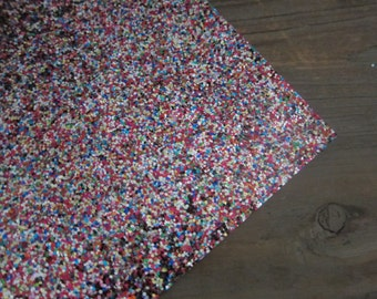 Glitter Material Multi Mix 8X10 sheet