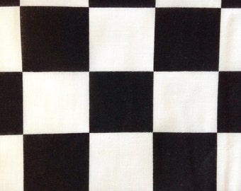 One Fat Quarter of Fabric - Racing Check Large