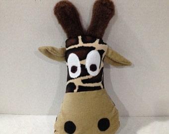 Giraffe Head Stuffed Plush