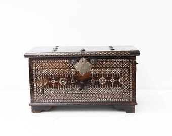 Small Moroccan Inlaid Chest