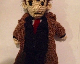 "13"" Dr. Who Amigurumi (Pattern by Crafty Is Cool)"