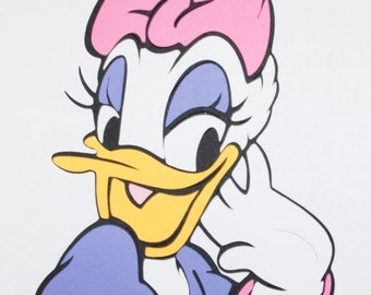 Daisy Duck Close-Up Die Cut - Mickey and Friends
