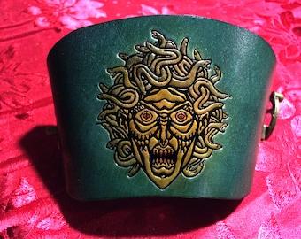 Gorgon Medusa Cuff
