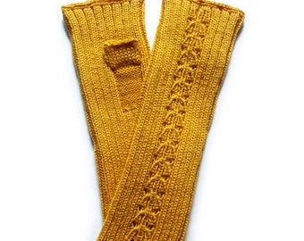 Babies/Children's Merino wool fingerless mittens/pulse warmers/arm warmers/fingerless gloves
