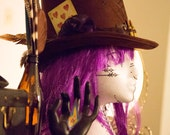 The Player- Steampunk Victorian Top Hat