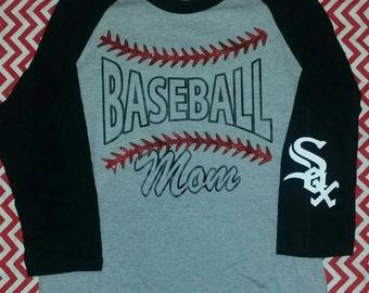 Baseball Mom baseball T