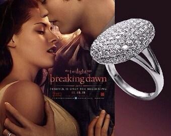 Twilight Platinum Saga Bella Ring 9,10