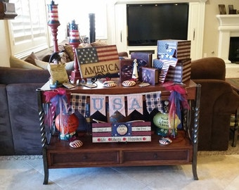 USA Patriotic Banner