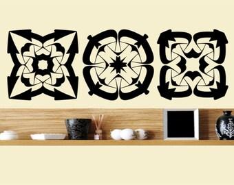 Celtic Wall Art celtic sticker | etsy