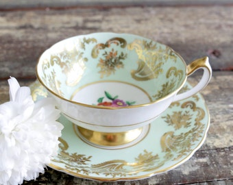 Paragon Teacup And Saucer. English Tea Party. Paragon Tea Cup. Paragon China. Birthday Gifts For Mom. Vintage Teacups For Sale