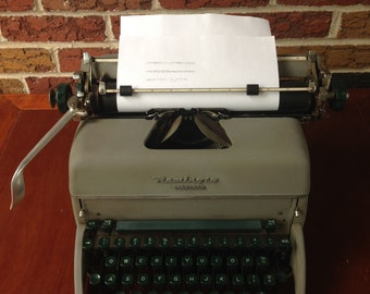 century office equipment. simple equipment mid century remington rand standard typewriter office equipment manual  with dust cover equipment p