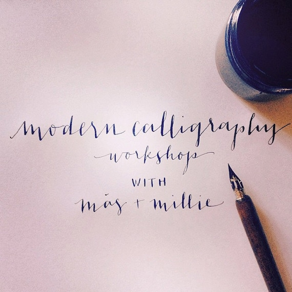 Modern Calligraphy For Beginners Chicago 7 12 15 By