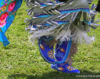 Native art, Native American, Moccasin, Native American Photography, Photography wall art, home decor,