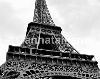 Eiffel Tower, Paris. Photograph