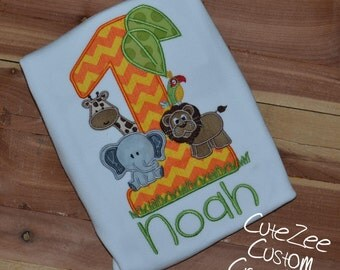 Zoo Birthday Onepiece/Shirt