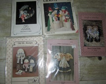 284) Simply Nantuckets Little Beth Angel Old Mr Humpty Dumpty Dolls Best Friends Kids Dolls Mccalls 354 Snowmen Dolls Designs By Madonna