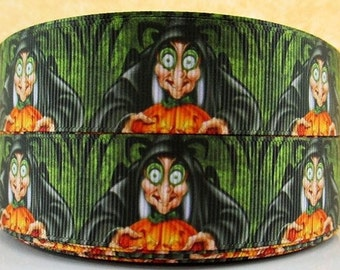 5 YDS Snow White Wicked Witch Ribbon
