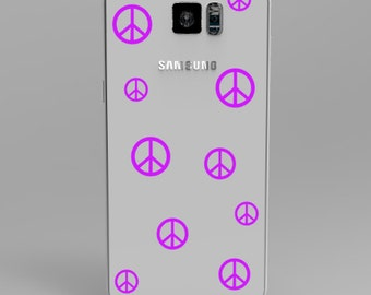 Peace Phone Cover Decal