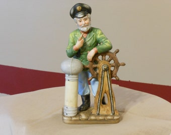 Ship's Captain Figurine