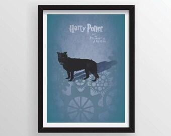 8.5 x 11 Harry Potter and the Prisoner of Azkaban Poster
