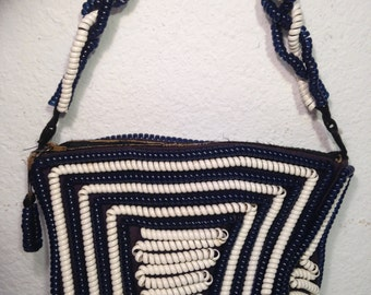FREE  SHIPPING   Telephone  Cord  handbag