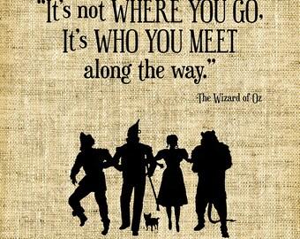 Digital Design/Wizard of Oz/Yellow Brick Road/Digital Stamp/Vinyl/Card Making/Scrapbook/Friends/Dorothy- INSTANT DOWNLOAD