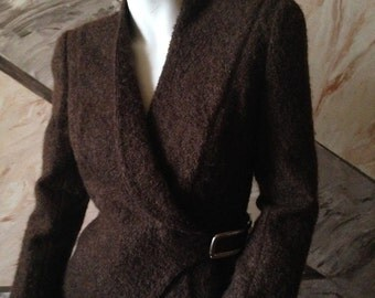 wool jacket by Thierry Mugler
